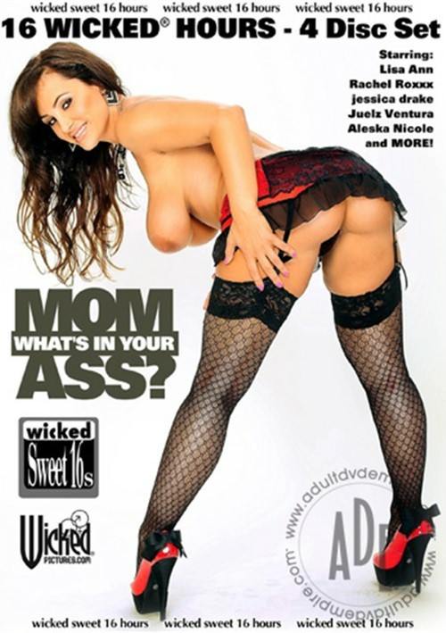Mom Whats In Your Ass?