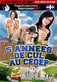 Stream 5 Annees De Cul Au Cegep Porn Video from Pegas Productions!