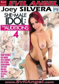 She-Male Idol: The Auditions 4 DVD Image from Evil Angel.