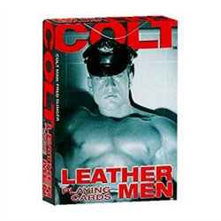 Colt Leather Men Playing Cards Sex Toy