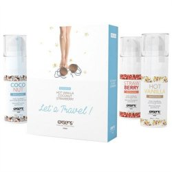 Exsens of Paris - Let's Travel Massage Oil Set Sex Toy