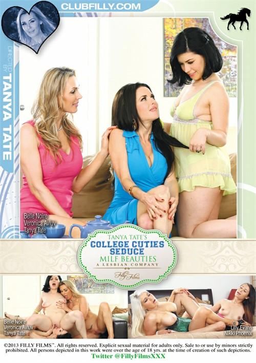 College Cuties Seduce MILF Beauties