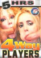 4Way Players Porn Movie