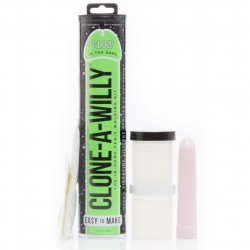 Clone-A-Willy Kit- Vibrating – Glow In The Dark image