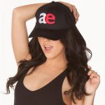 Adult Empire Embroidered Black Cap Sex Toy