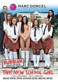 Russian Institute: Lesson 20 - The New School Girl DVD Image from Marc Dorcel.