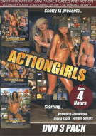 Actiongirls DVD 3 Pack Porn Movie