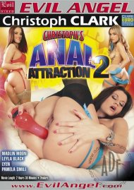 Christoph's Anal Attraction #2 DVD Image from Evil Angel.