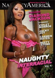 Naughty Interracial DVD Image from Naughty America.