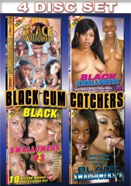 Black Cum Catchers 4-Pack Porn Movie