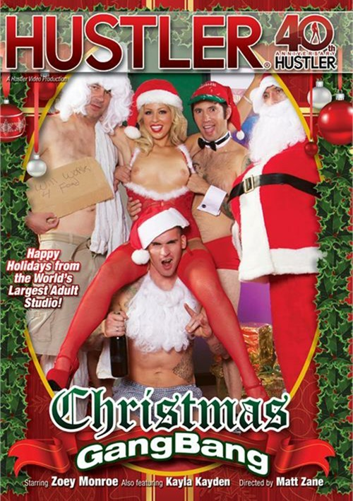 Рождественская Групповуха / Christmas GangBang (2014) DVDRip