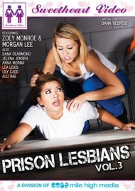 Prison Lesbians Vol. 3 DVD Image from Sweetheart Video.