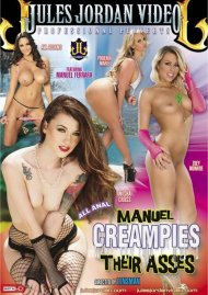 Manuel Creampies Their Asses DVD Image from Jules Jordan Video.