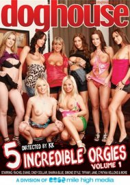 5 Incredible Orgies Vol. 1 Porn Video