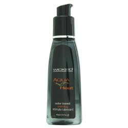 Wicked Aqua Heat Water Based Warming Lubricant - 2 Oz. Sex Toy