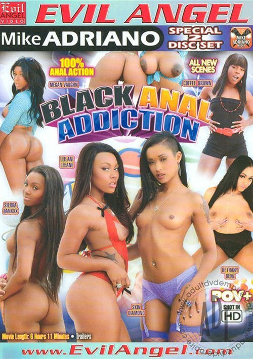 Black Anal Addiction