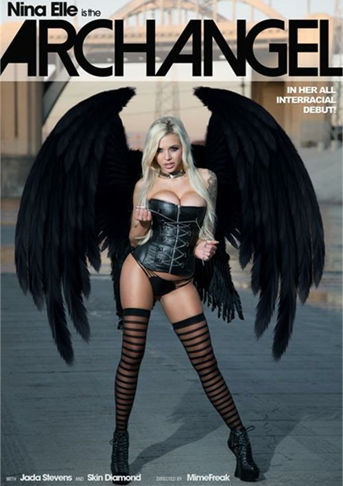 Nina Elle Is The ArchAngel DVD Porn Movie Image