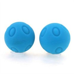 Maia: Wicked Silicone Balls - Blue Sex Toy