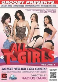 Stream All T-Girls Vol. 1 Porn Video from Grooby Productions.