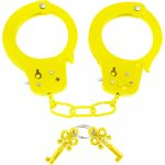 Neon Fun Cuffs - Yellow Sex Toy