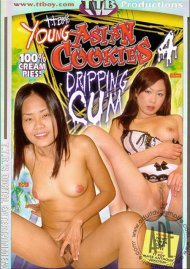 Young Asian Cookies Dripping Cum 4 Porn Video