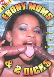 Ebony Moms & 2 Dicks Porn Video