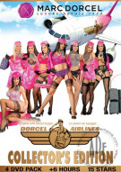 Dorcel Airlines Collectors Edition 4-Pack Porn Movie