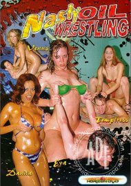 Nasty Oil Wrestling Porn Movie