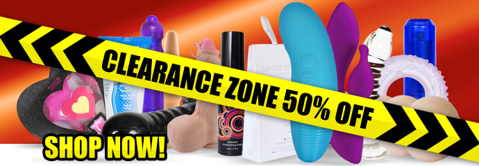 Shop 50% Off Sex Toy Clearance Sale.