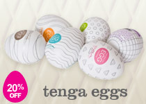20% Off Tenga Eggs!