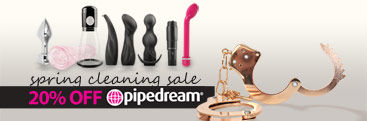 Browse 20% pipedream sex toys.