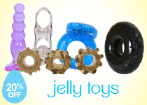 Buy 20% Off Jelly Toys Sex Toys!