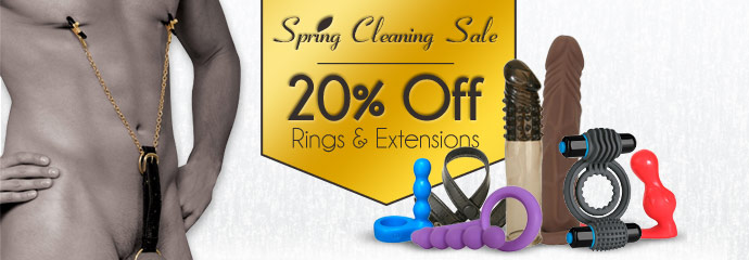 Buy 20% off rings & extensions sex toys.