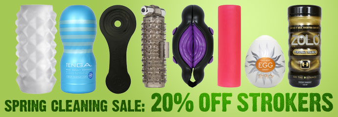 Shop 20% Off Strokers Sex Toys.