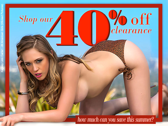 Save 40% on select porn movie titles.