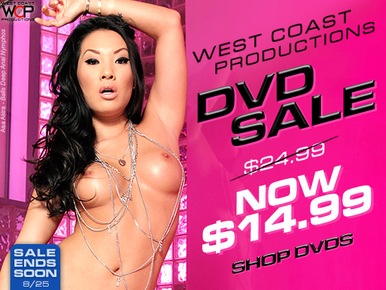West Coast Productions DVD porn movies on sale.
