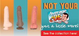 Average Joe sex toys.