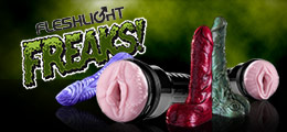 Shop sex toys from Fleshlight's Freaks collection.