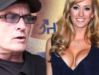 Pornstar Brett Rossi calls it quits with movie star Charlie Sheen.