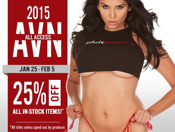 Shop AVN all access sale, videos on sale now.