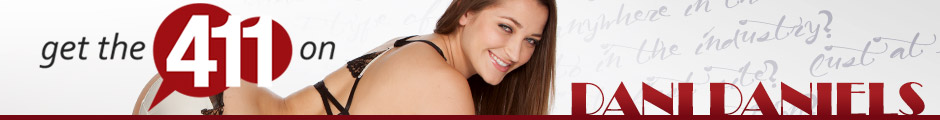Learn more about pornstar Dani Daniels.