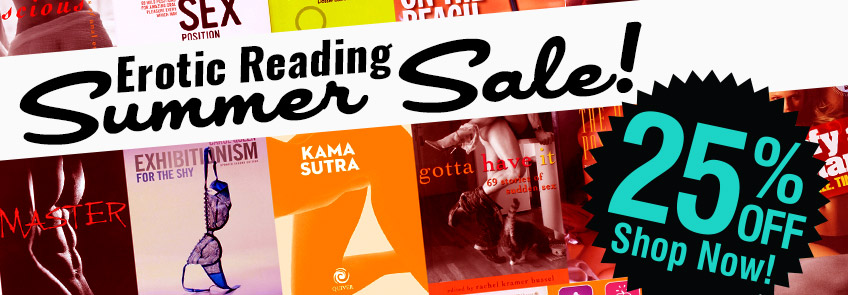 Save 25% on erotic books - Shop now!