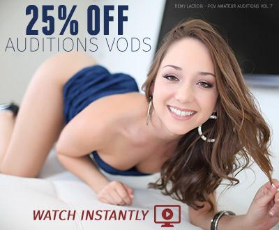 Auditions VOD Sale