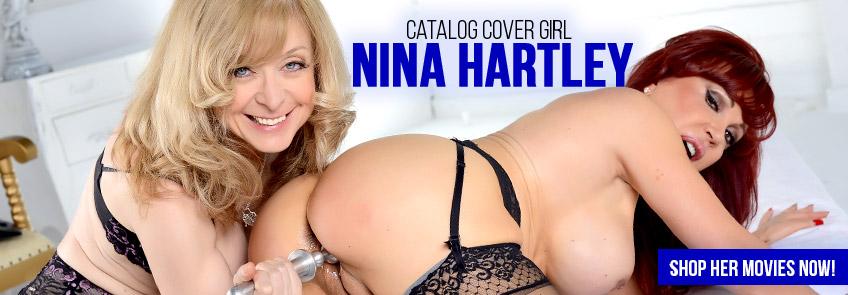 Nina Hartley catalog cover girl image.